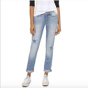 NWT Paige Jimmy Jimmy Star Cut Out Jeans